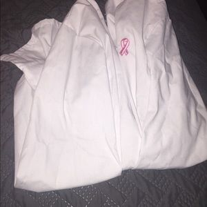 Breast cancer addition nurse coat.